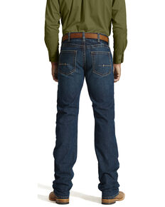 Ariat Men's Rebar M5 Slim Straight Leg Jeans, Denim, hi-res