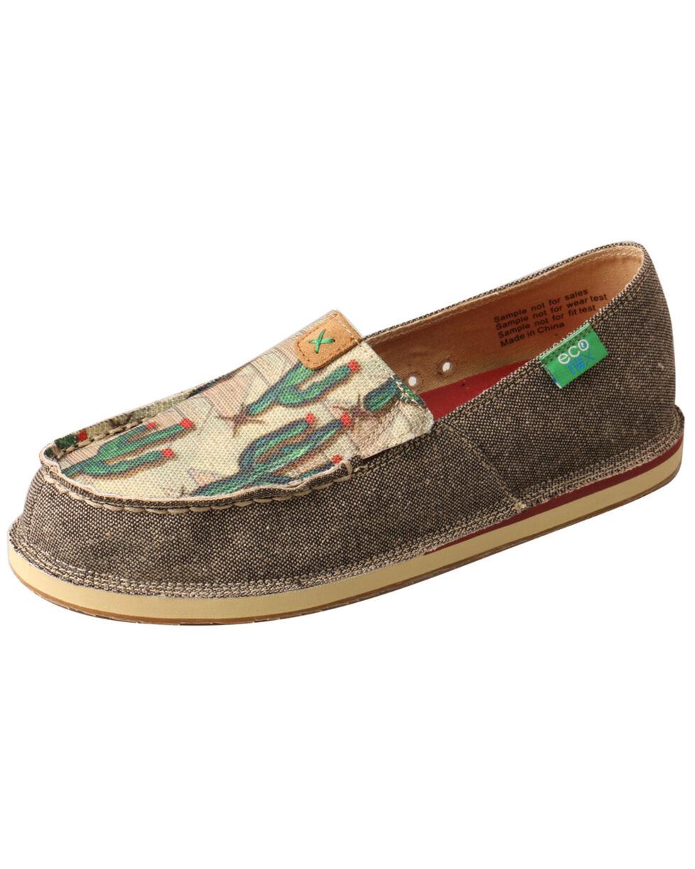 Twisted X Women's Cactus Driving Loafers - Moc Toe, Multi, hi-res