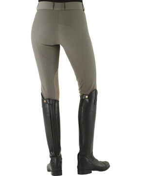 Ovation Celebrity Slimming Knee Patch DX Breeches, Iron, hi-res