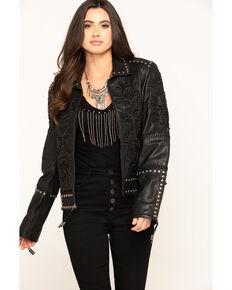 Double D Ranchwear Women's Tasajulillo Jacket , Black, hi-res