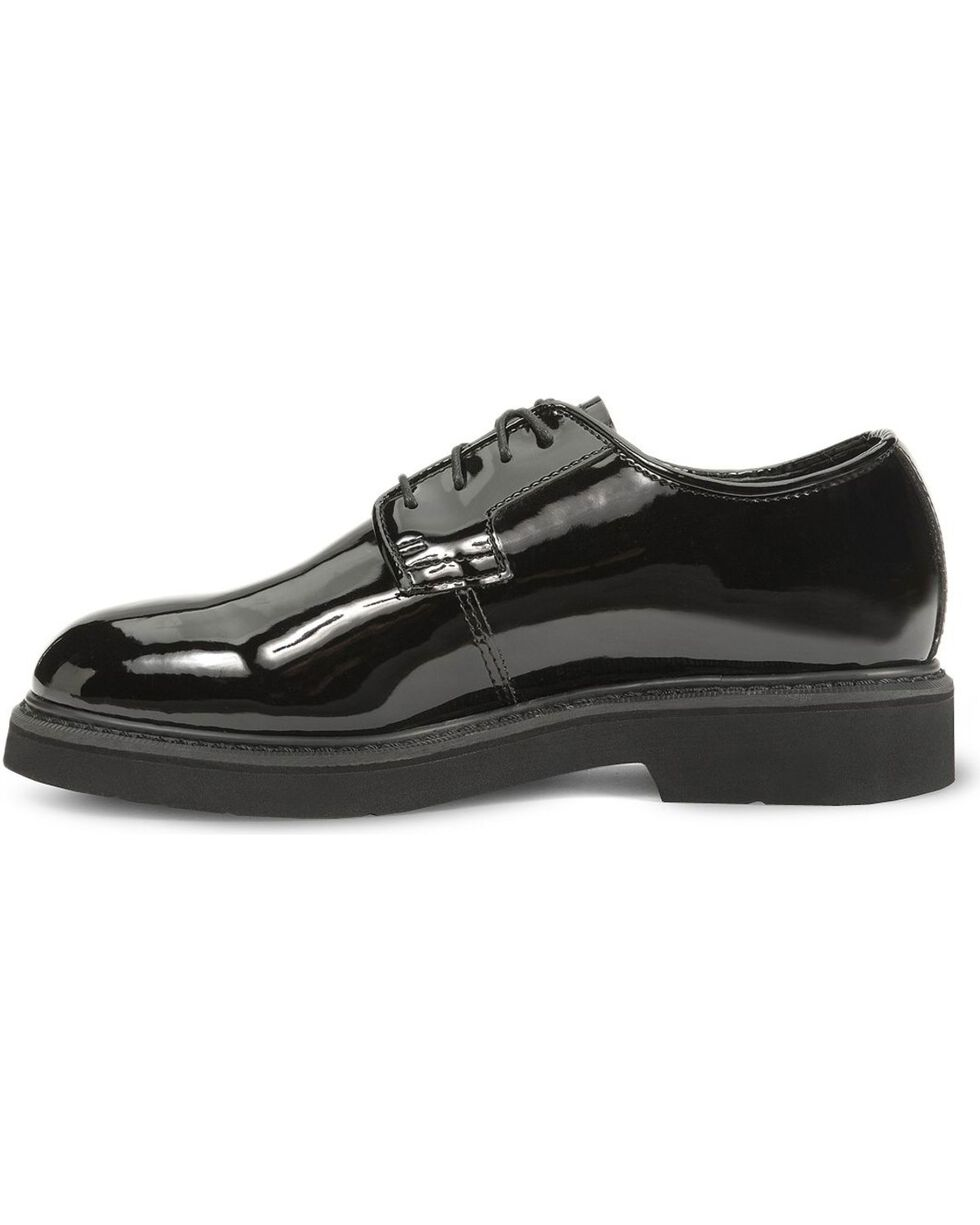Rocky Men's High Gloss Dress Oxford Shoes, Black, hi-res