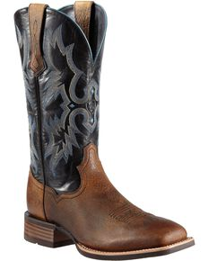 Ariat Men's Tombstone Western Boots, Earth, hi-res