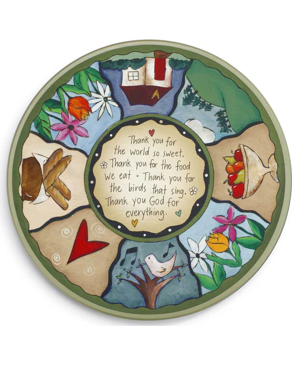 Demdaco Sweet Table Prayer Lazy Susan , Multi, hi-res