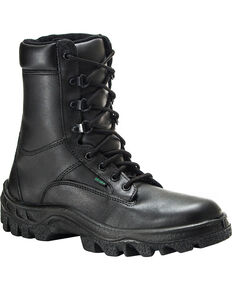 Rocky Men's TMC Postal Approved Military Boots, Black, hi-res