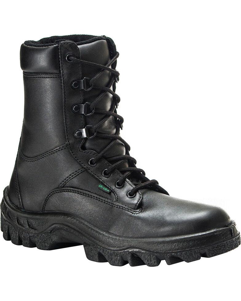 Rocky Men's TMC Postal Approved Military Boots, Black, hi-res