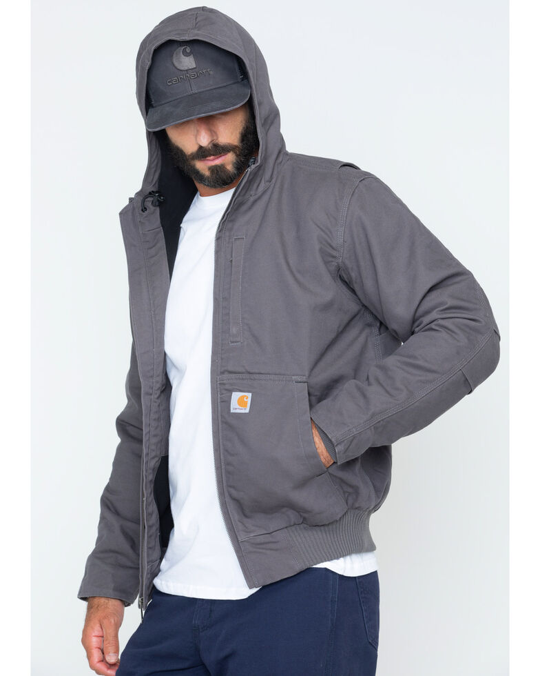 Carhartt Men's Full Swing Armstrong Active Jacket , Charcoal, hi-res