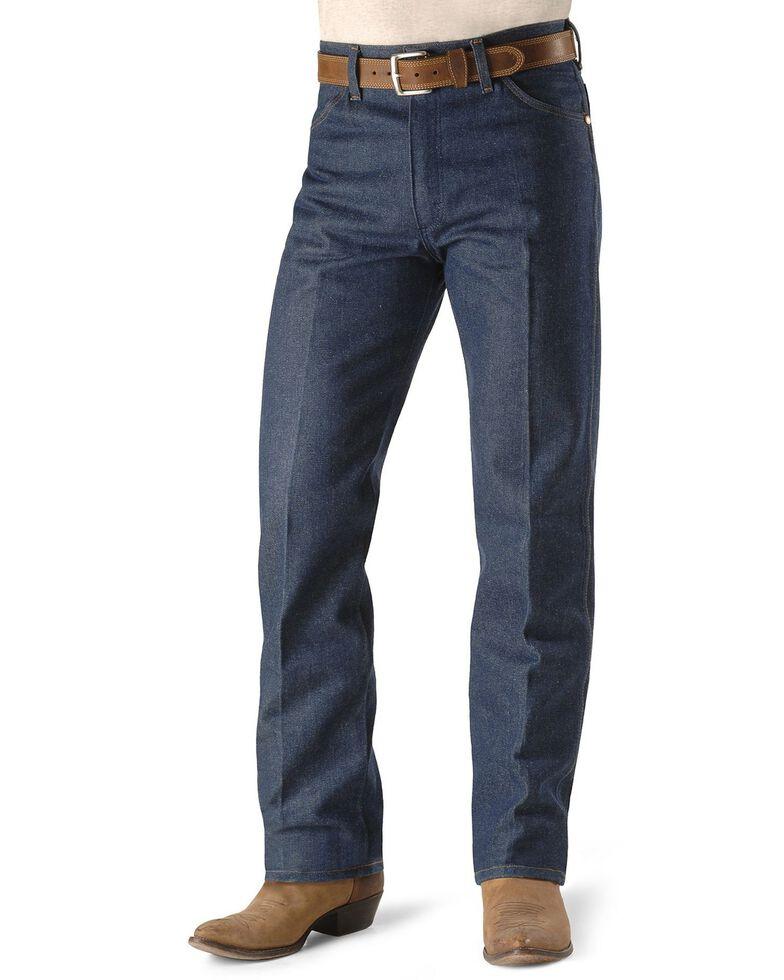 Wrangler Men's Original Fit Rigid Jeans