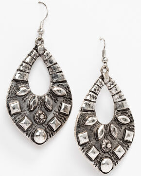 Idyllwind Women's Shall We Dance Earrings, Silver, hi-res