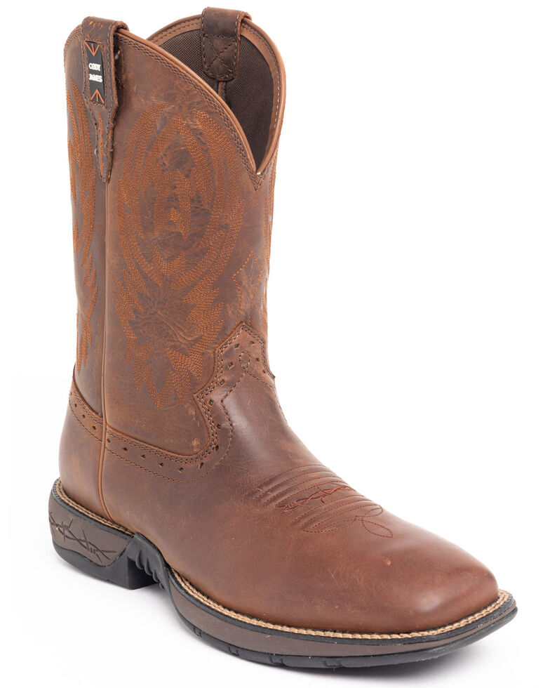 Cody James Men's Fuhsing Western Boots - Wide Square Toe, Honey, hi-res
