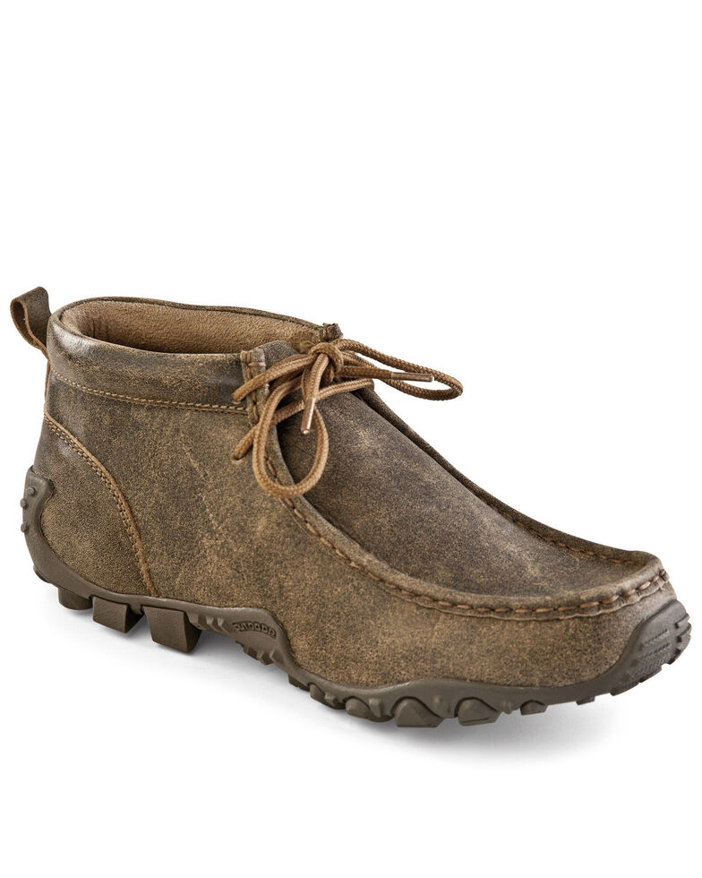 Old West Men's Brown Casual Shoes - Moc Toe, Brown, hi-res