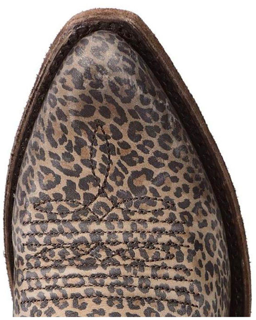 Liberty Black Women's Micro Jaguar T-Moro Concho Fringe Boots, Multi, hi-res