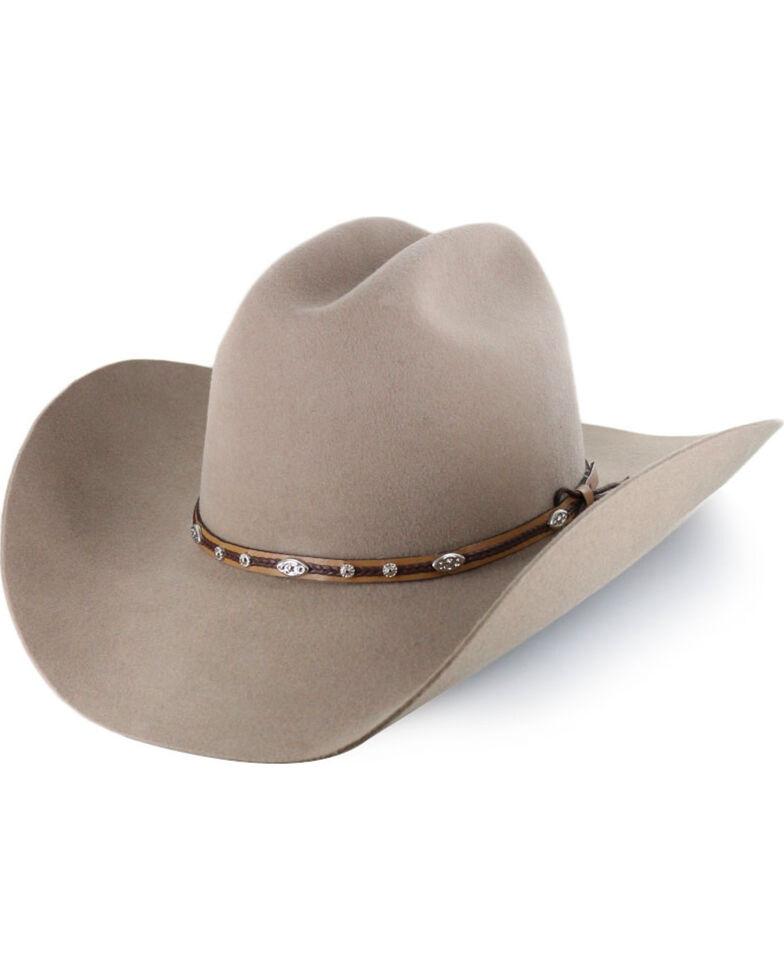 """Cody James® Men's Ruidosa Low Cattleman 4"""" Pro Rodeo Brim Wool Hat, Tan, hi-res"""