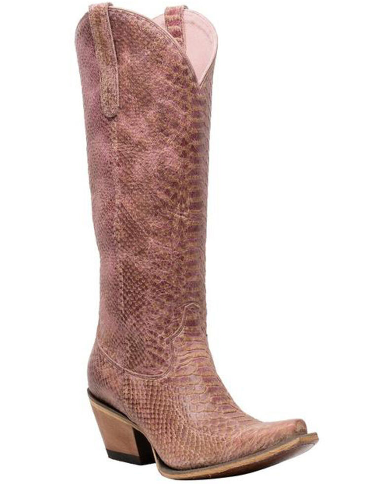 Junk Gypsy by Lane Women's Desert Highway Western Boots - Snip Toe, Pink, hi-res