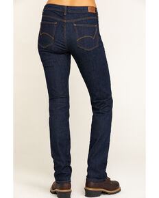 Dickies Women's Perfect Shape Denim Straight Jeans, Indigo, hi-res