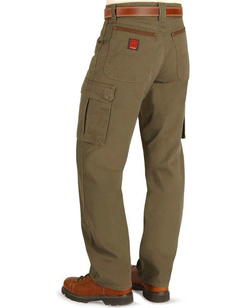 cfb557a7 Zoomed Image Wrangler Riggs Workwear Ranger Pants, Loden, hi-res