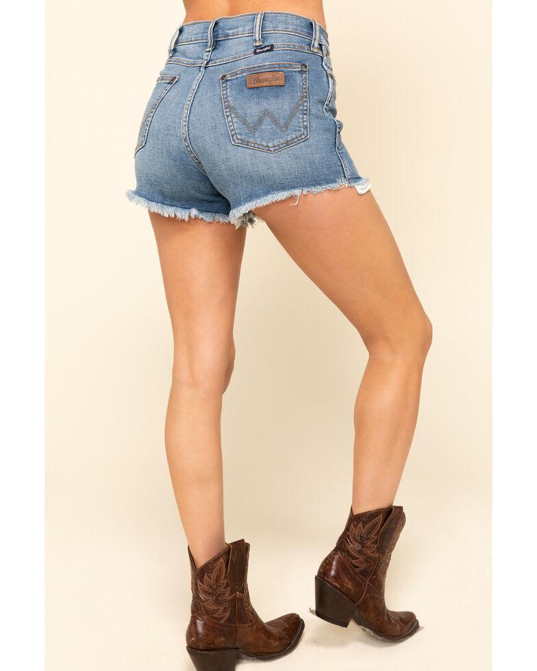 Wrangler Retro Women's Medium Ava Shorts, Blue, hi-res