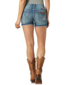 Wrangler Retro Women's Carmel Floral Shorts, Blue, hi-res