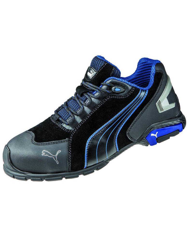 Puma Men's Rio Black Work Shoes - Soft Toe, Black, hi-res