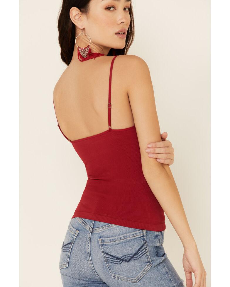 Idyllwind Women's Seamless Cami, Red, hi-res