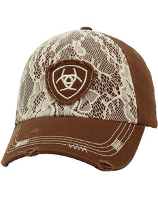 e91a87ea30b Ariat Women s Lace Overlay Baseball Cap.  24.99. Ariat Womens Scroll and Rhinestones  Baseball Cap
