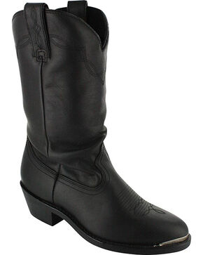 Shyanne® Women's Slouch Fashion Western Boots, Black, hi-res