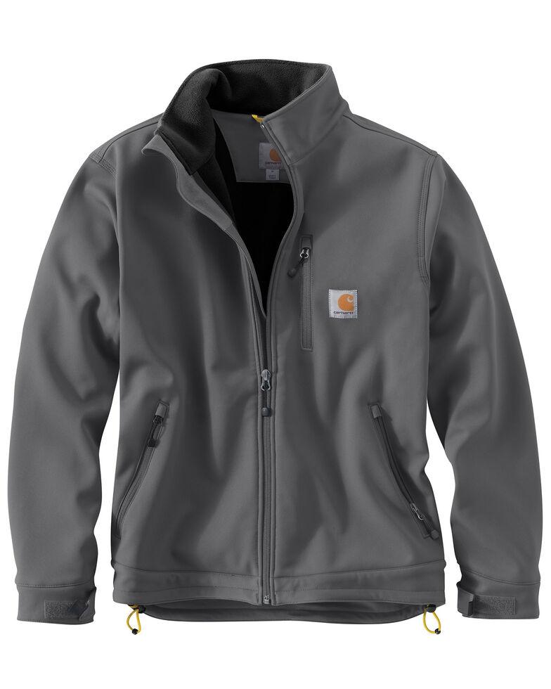 Carhartt Men's Crowley Work Jacket - Big & Tall, Charcoal Grey, hi-res