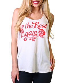 "Bandit Women's ""On the Road"" Tank, White, hi-res"