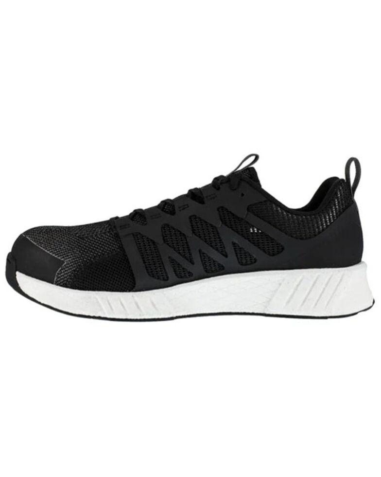 Reebok Women's Fusion Flexweave Work Shoes - Composite Toe, Black, hi-res