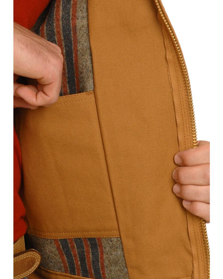 Dickies Blanket Lined Duck Jacket, Brown Duck, hi-res
