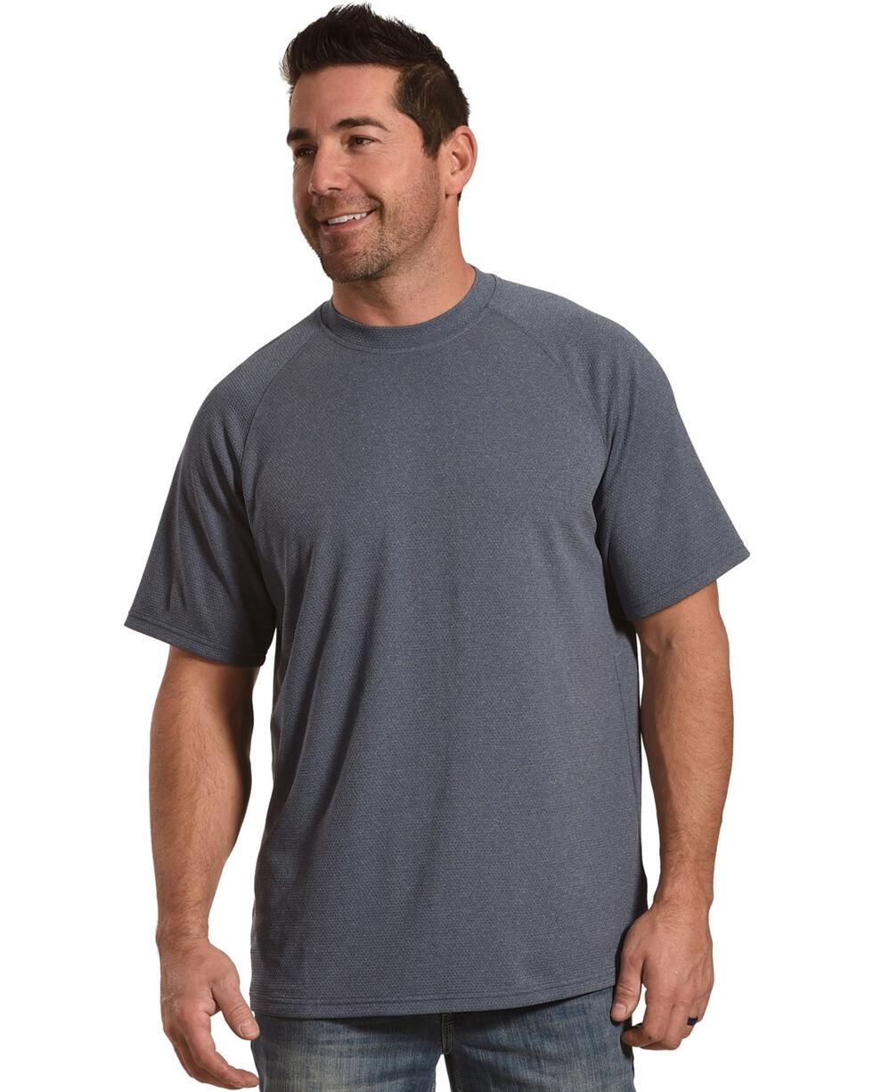 American Worker Men's Rigzone Crew Neck T-Shirt, Navy, hi-res