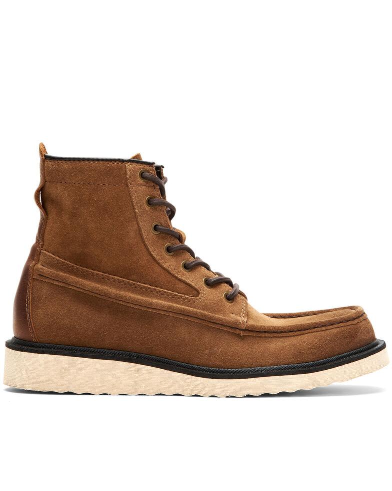 Frye Men's Montana Wedge Work Boot - Soft Toe, Tan, hi-res