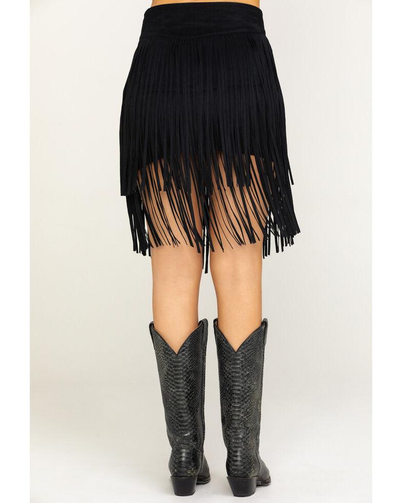 Idyllwind Women's Frill Seeker Skirt, Black, hi-res