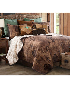 HiEnd Accents 2 Piece Ironwork Quilt Set - Twin , Multi, hi-res