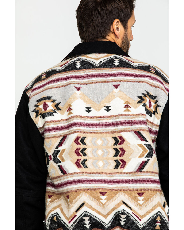 Cripple Creek Men's Brown Navajo Blanket Jacket , Beige/khaki, hi-res