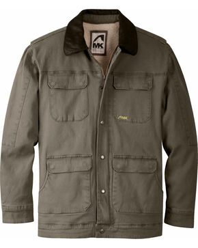 Mountain Khakis Men's Ranch Shearling Jacket, Dark Brown, hi-res