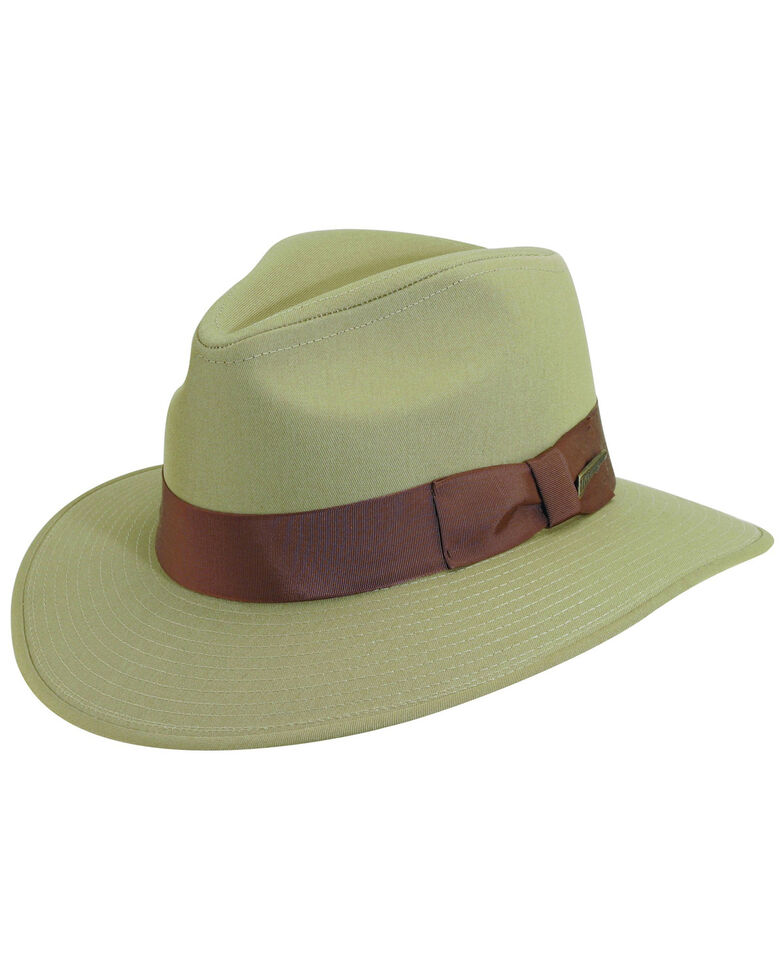 Indiana Jones Khaki Cotton Safari Hat, Khaki, hi-res