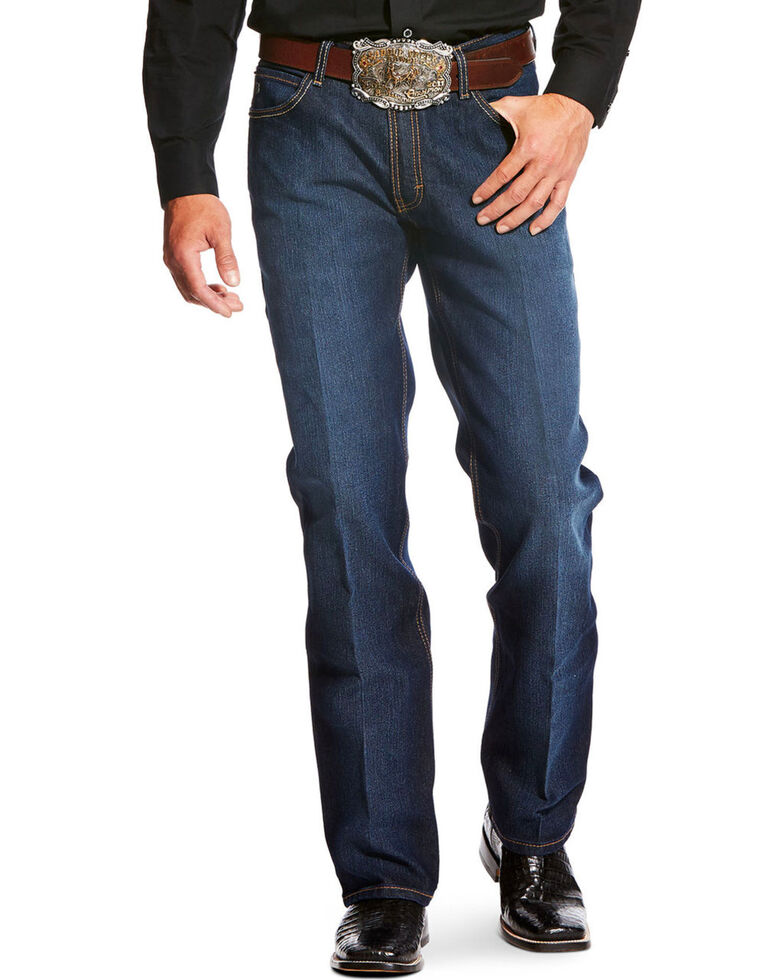 Ariat Men's Blue Relentless Relaxed Bootcut Jeans , Blue, hi-res