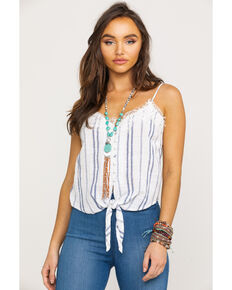 White Crow Women's Shelby Top , White, hi-res