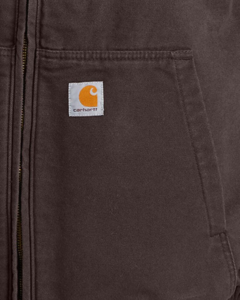 Carhartt Men's Full Swing Armstrong Active Jacket , Dark Brown, hi-res