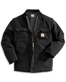 Carhartt Men's Duck Arctic Traditional Coat, Black, hi-res