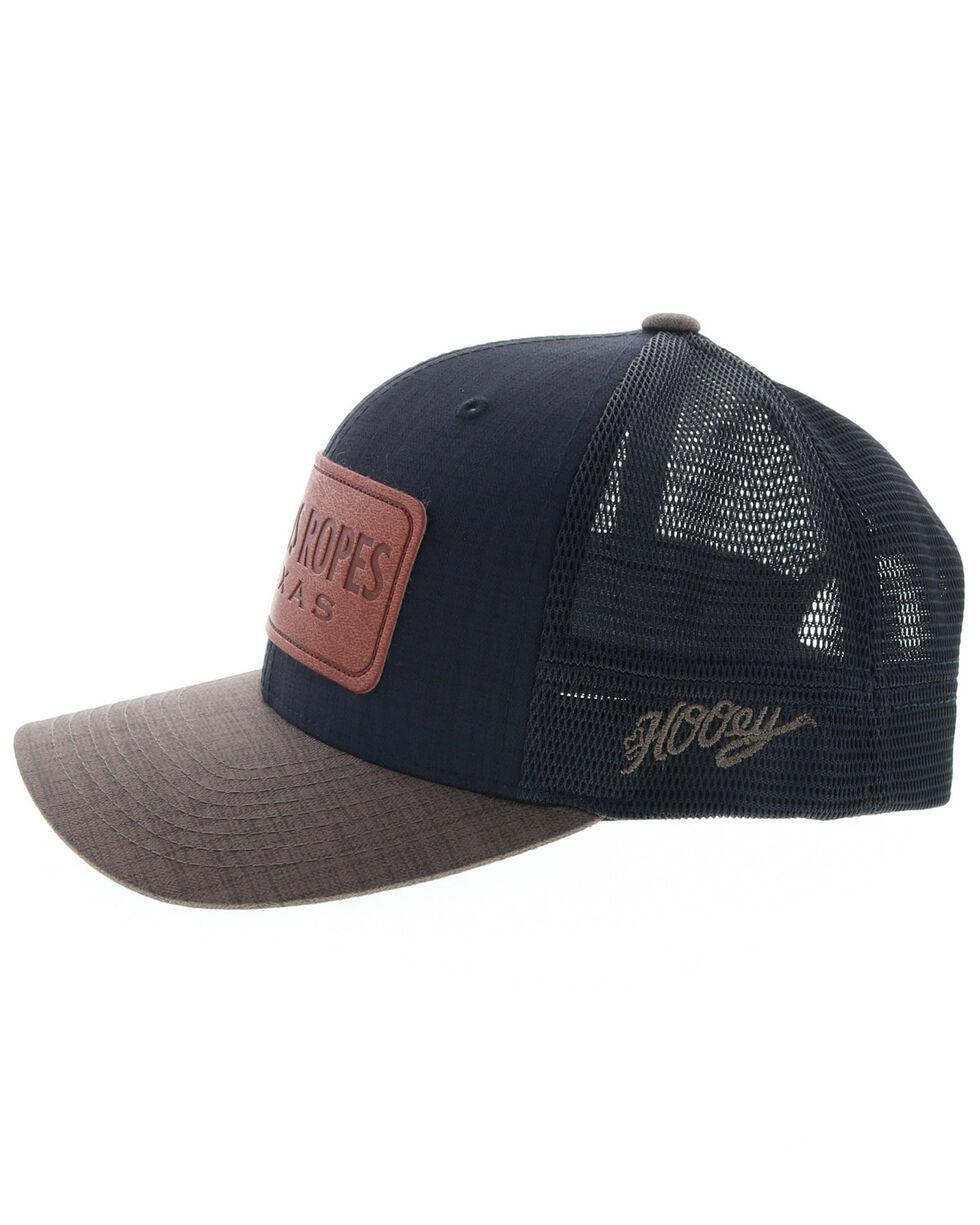 HOOey Men's Cactus Ropes Baseball Cap, Black, hi-res