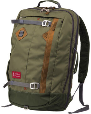 Browning Heritage Jackson Carry-On Travel Pack Green, Green, hi-res