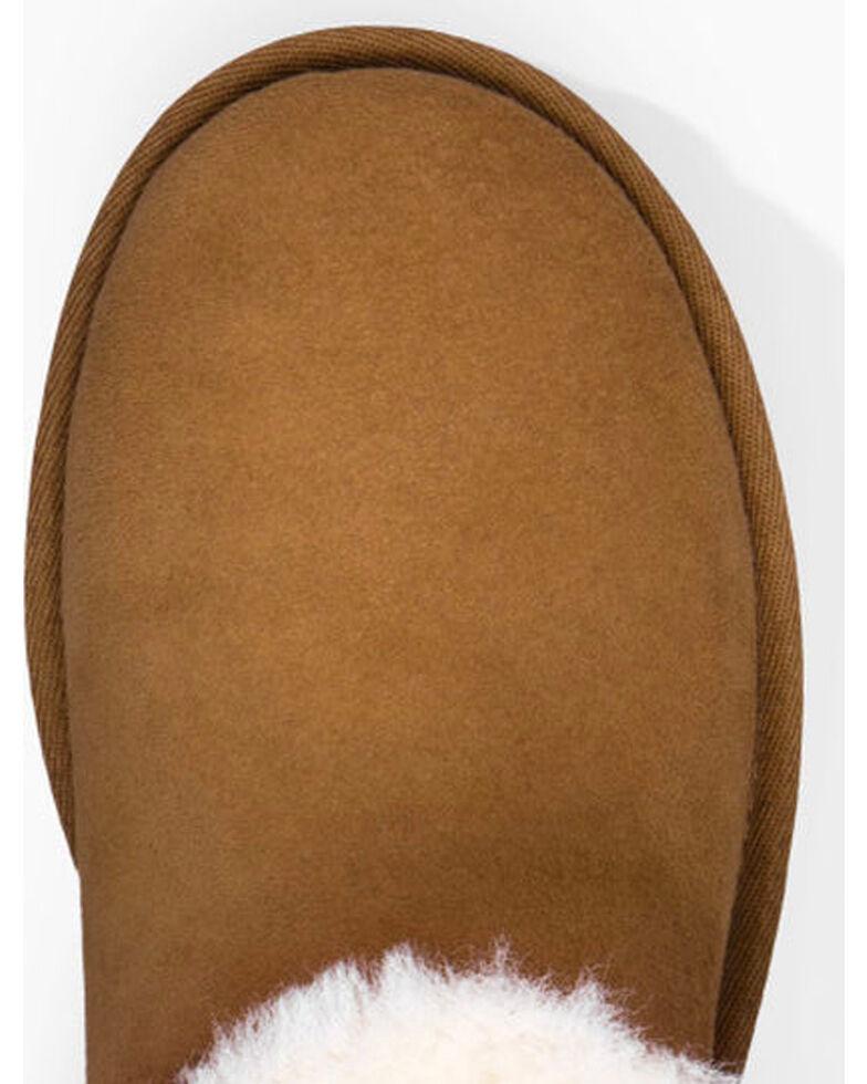 UGG Women's Button Shortie Boots, Chestnut, hi-res