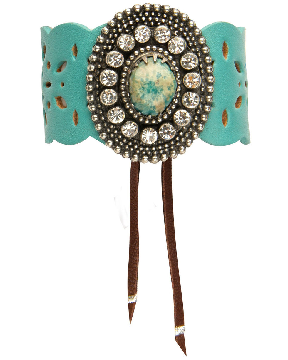 AndWest Women's Shine All Night Cuff, Turquoise, hi-res