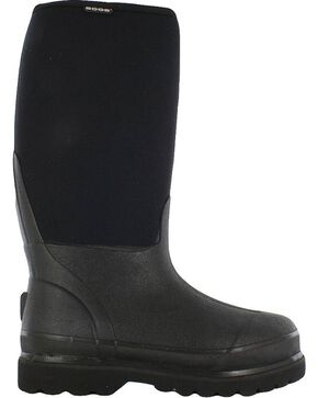 Bogs Men's Rancher Muck Boots, Black, hi-res