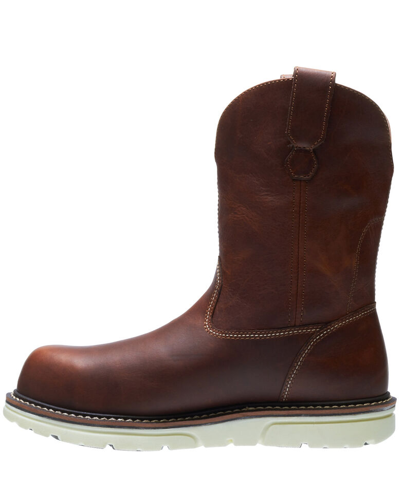 Wolverine Men's I-90 Durashocks Carbonmax Western Work Boots - Composite Toe, Red, hi-res