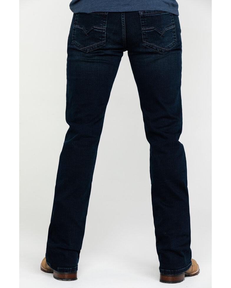 Moonshine Spirit Men's Nightfall Dark Slim Boot Jeans , Indigo, hi-res