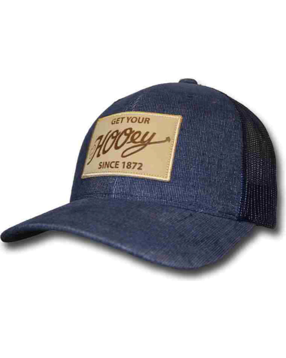 HOOey Men's Vintage Style Ball Cap, Blue, hi-res