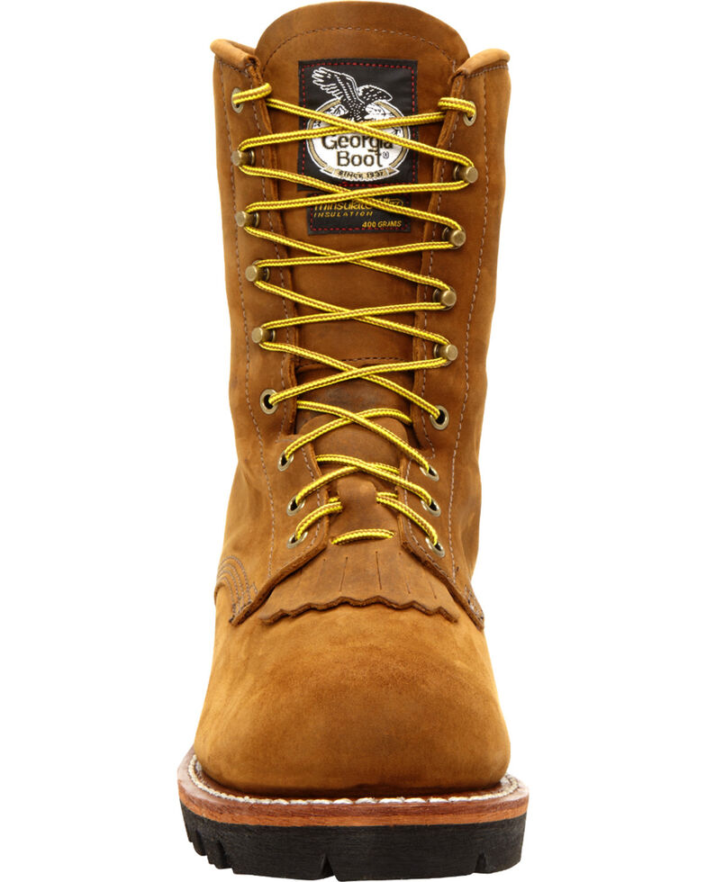 Georgia Men's Insulated Steel Toe GORE-TEX Work Boots, Saddle Tan, hi-res