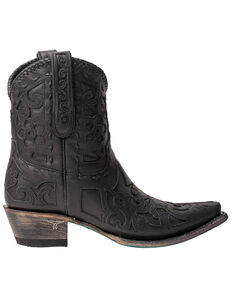 Lane Women's Robin Western Booties - Snip Toe, Black, hi-res